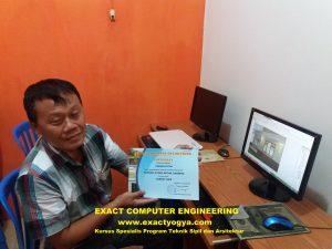 tempat Kursus ARCHICAD di Yogyakarta, di Jogja harga termurah terbaik