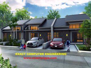 tempat Kursus Pelatihan menggambar Rumah dengan Sketchup, Autocad, Archicad, 3D Max , Vray, Lumion termurah, terbaik di Jogja, di yogyakarta